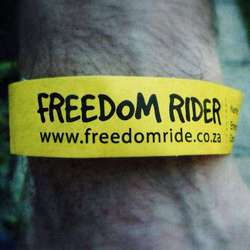Freedom Ride SA - Non competitive cycling event, in honour of Nelson Mandela, empowering transformation of cities, donations welcomed