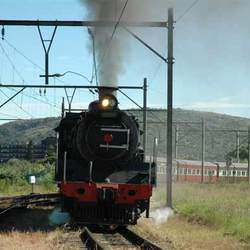 Friends of the Rail - FOTR runs regular vintage steam train trips in and around Pretoria-Tshwane and to Cullinan. A great outing for the whole family and birthday parties.