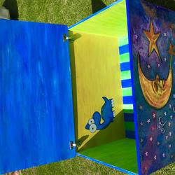 Lo-Li Box - Personalised Toy Box painting events for Baby Showers
