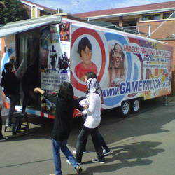 GameTruck - The GameTruck offers multimedia entertainment for your event, with 16 gaming stations for birthday parties & gaming events.