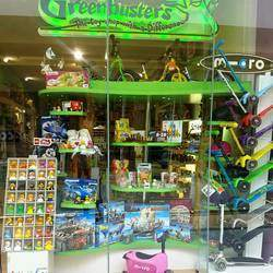 Greenbusters, the toyshop with a difference - Imported wooden toys, educational games, crafts, outdoors, books, bubble machines for hire for parties
