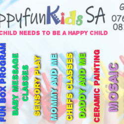 HappyFun kids SA Germiston - We offer daycare and aftercare, birthday parties, sports, Arts, Crafts, Drama, Messy Play, Chefs, Photo Shoots, Daddy and Kid(s), Mommy and kid(s),