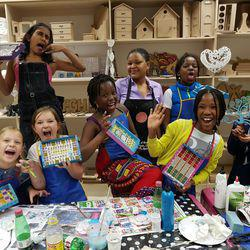 Sunninghill Arts & Crafts - Mosaics, paints, canvases, creative projects, scrapbooking, workshops for all ages and for all levels.
