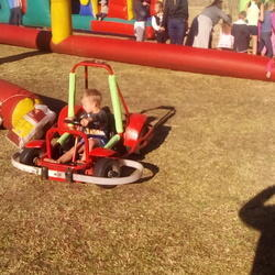 Kiddies Carts @Leisure - Battery operated mobile go carts for kids parties or any other function in Gauteng