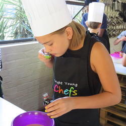 Bright Young Chefs - Come & experiment with colour, flavour and texture. Our fun filled workshops will have you using all your senses to create mouth-watering yummy meals.