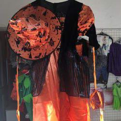 Halloween hamper with decor, dress-up  worth R600