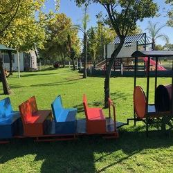 Party Venue at Earth Kids  - Kindergarten and party venue with Jungle gyms, Nemo ship, sandpit, wendy house, climbing wall, trampolines and much more. Indoor and outdoor play area.