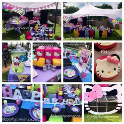 Kidz Party Corner - Kids parties, party venue, online party supplies shop, party hire, themed birthday cakes, party packs, tableware, customised party supplies and decor