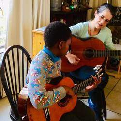 Jammin'WithJanet - Guitar lessons offered in the comfort of your own home, choice of song that you'd like to play, face to face interaction, immediate mistake correction. Zoom lessons also offered, Protocols of COVID restrictions observed