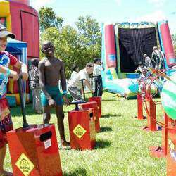 Jeremy Kusner Productions - Kids Carousels, Jumping Castles, Mechanical bulls, Foam Parties, Juke Boxes, Water Balls, Sumo Suits, Magic Shows, Disco's, Face Painters, Balloons