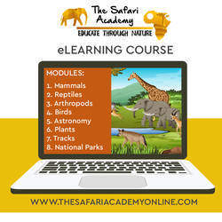 The Safari Academy - eLearning company specializes in nature and wildlife for 5- 13 yr olds in with an awesome online program