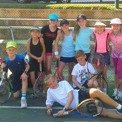 Sport - Sue Rollinson tennis clinic