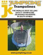 JumpKING Trampolines - JumpKING stocks JumpPOD, OvalPOD & Combo safety trampolines with secure safety nets for children and adults.
