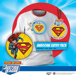 Justice Leaque Virtual Run Series - The Justice League™ Virtual Run series is the official series of Warner Bros and DC comics in South Africa. The events are produced by Sportsvendo.