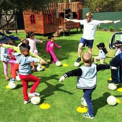 The Kick-Ups - General balls skills and core-skills development programme for soccer, cricket, and rugby