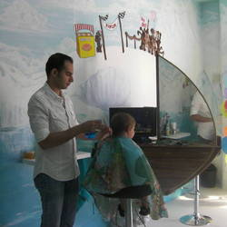 Kiddocut - Kids Iceland themed hair salon, kids hairdressers.