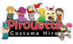 Pirouette Costume Hire - Kids and adults fancy dresses, tuxedos, costume accessories, evening wear, school concerts.