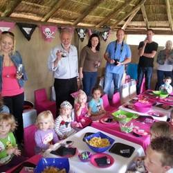 Win party venue hire and basic setting worth R1500