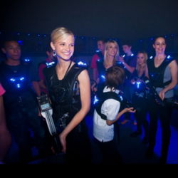 Laser Battle Zone - Indoor Laser Tag Game for kids, teens & adults, birthday parties, corporate outings & team building
