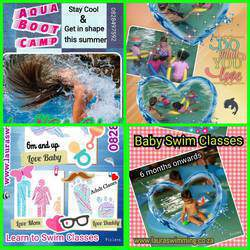 Laura's Swimming School - Swimming lessons for babies from 6 mnths, kids & adults