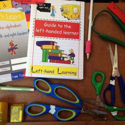 Left-Hand Learning - Lefthanded resources,stationery and workshops for parents and teachers of left-handed children