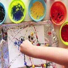 Holiday Programs - Arts and crafts at Field and Study Montessori