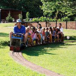 Mini Steam Trains - Miniature steam and diesel train rides. Situated in a big park with braai facilities, a lapa with kitchen faclities for parties and schools.