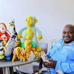 R & R Projects - Hand made and locally produced soft toys, uniquely African themes, vibrant prints and colours