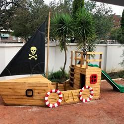 The Wood Workshop - We create imaginative and exciting jungle gyms and treehouses/playhouses.  Our sandboxes incorporate a theme around trucks, ships, tugboats and trains.