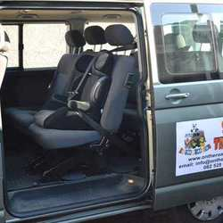 On the Road Kidz Transport Services - Our drivers have valid driver's licenses and are carefully chosen. They are also equipped with a cellphone to be contactable at all times and the drivers routes are tracked.