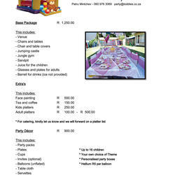 Toddies Kids Party Venue - A fun party venue for kids