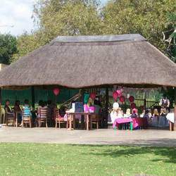 Panettone Cafe @ Zoo Lake Sports Club - Kids party venue, restaurant with large secure playground & jumping castle. Platters, buffets, party bags, magicians & cakes.