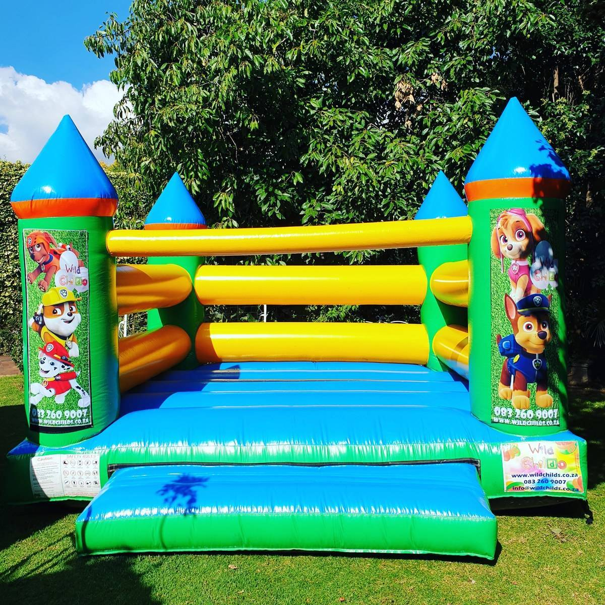Win jumping castle hire worth R850