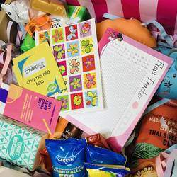 Petals Period Box - Bespoke Period boxes/ kits for girls to step into their monthly periods with confidence and ease. We provide Period Boxes with everything a girl needs during her period. Designed by mom and daughter.  #SheCan