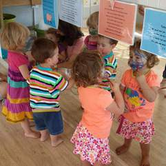 Baby/toddler - Pienkvoet-Pret weekly classes