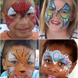 Bazinga Parties  - face painting, balloon sculpting, party games, sports games, theme dances , entertainers, sand art, crafts, kids parties, party entertainment