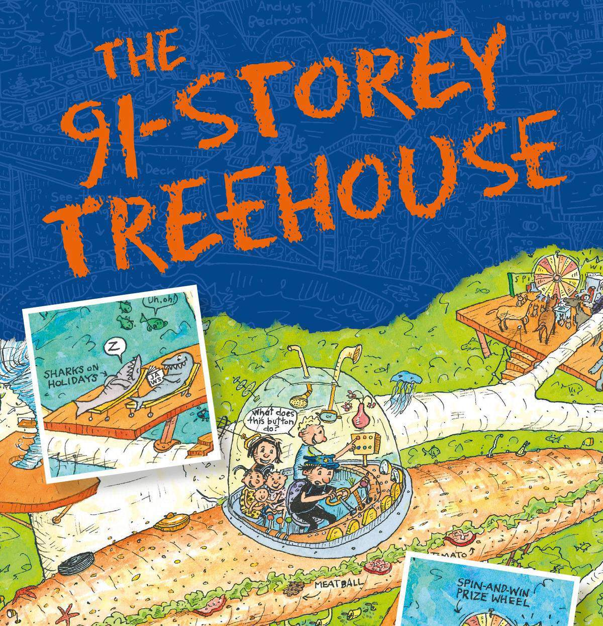 Win the 91-Storey Treehouse and 6 other books in the series worth R1225!