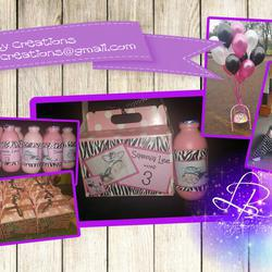LB Party Creations - Kids Party Planning, Kids party invites, Kids Party Boxes, Chalkboard designs, Birth Keepsake Designs, Baby shower and Kitchen tea invites