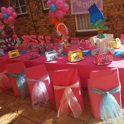Rainbow Parties - We are passionate about creating breathtaking party set ups for children's birthday parties. Offering: party planning services, party shop, party hire
