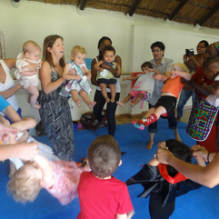 Baby/toddler - Rainbow Rhythm  free session