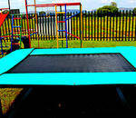 S.A. Trampoline - Manufacturers, suppliers and repair different sizes table and pit model trampolines using black woven material mats