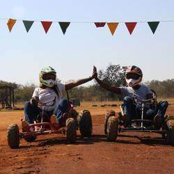 Saddle Creek Adventures - Horse trail rides, quad biking, off road go karting and archery