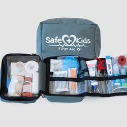 Safe Kids Stuff - Child safety products, including first aid kits and a parking lot safety product for kids called Helping Hand