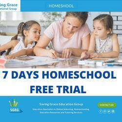 Saving Grace Education  - Educational Specialists in Online Schooling, Homeschooling and Tutoring services and Educational Resources.