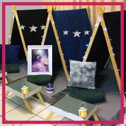 Slumber Nights - Kiddies sleepover teepee parties, fully setup with accessories and added extras on offer.