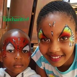 Enchanted Party Entertainers - Professional Face painting, balloon modeling, Fire dancing shows and hula hooping workshops in all Gauteng areas