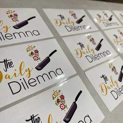 Stuck Up Labels - Customised stickers printed for stationery, your pantry, gifting and branding.