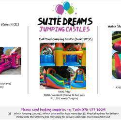 Suite Dreams Jumping Castles - Jumping castles for hire, inflatables for hire for any occasion