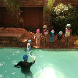 Swim4All and Kids Transportation  - Swimming lessons in an indoor heated pool, transport services to schools in Helderkruin, Roodekrans, Wilropark. Horison, Breuananda, Constantia