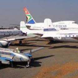 The South African Airways Museum Society - Day trip to view and learn the history of South African Airways and its aircraft for families, schools and tour groups.